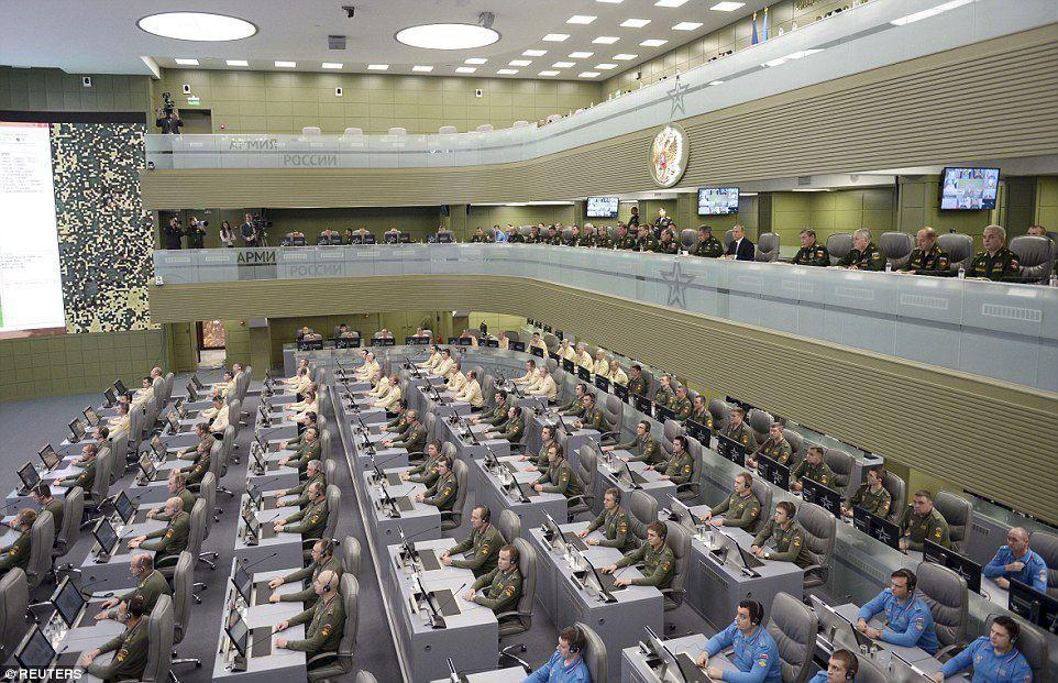 War Room Rusia Untuk ISIS