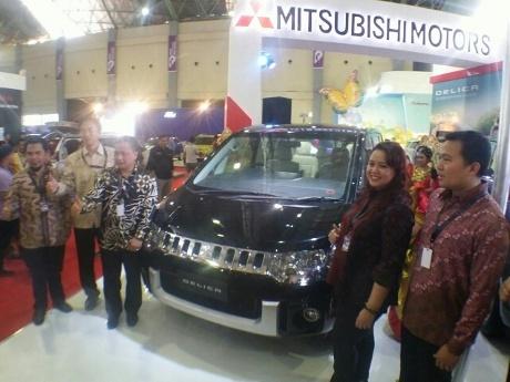 Mitsubishi Delica Royal Diluncurkan di GIIAS Makassar