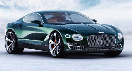 Bentley Siap Produksi Coupe Listrik Bertenaga 400-500 HP