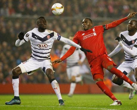 Liverpool Lolos Usai Atasi Bordeaux