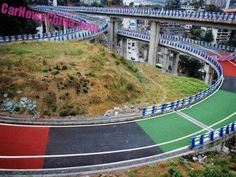 Jalanan di China Akan Dibuat Berwarna