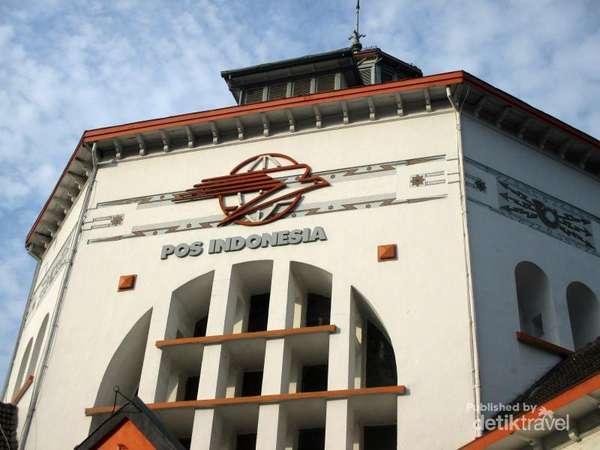 Kantor Pos di Medan, Gedungnya Berusia 100 Tahun Lebih!