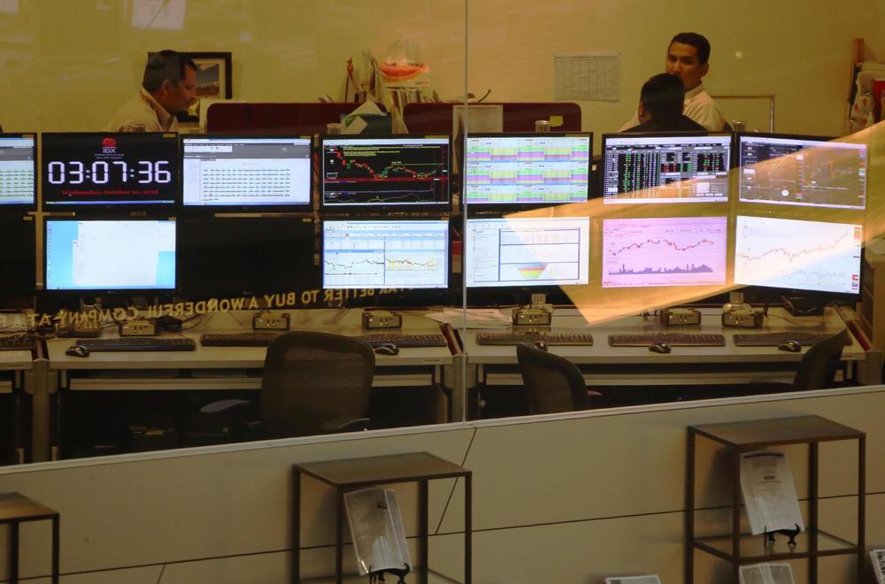 Mengekor Bursa Asia, IHSG Jatuh 33 Poin