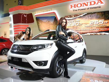 Ratusan Honda BR-V Terpesan di Makassar Auto Show
