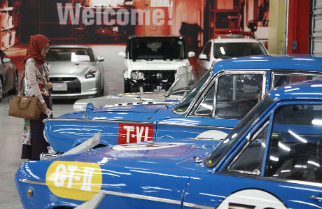 Melihat Sejarah Perkembangan Nissan di Zama Heritage