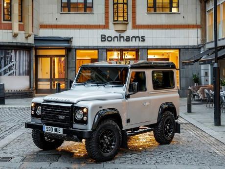 Land Rover Defender Produk ke-2 Juta Ini Akan Dilelang