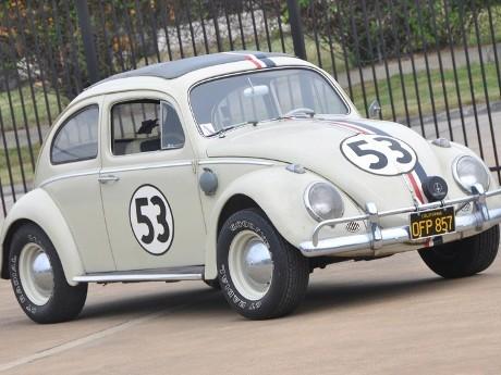 VW Beetle Herbie Dilelang Seharga Rp 1,19 M