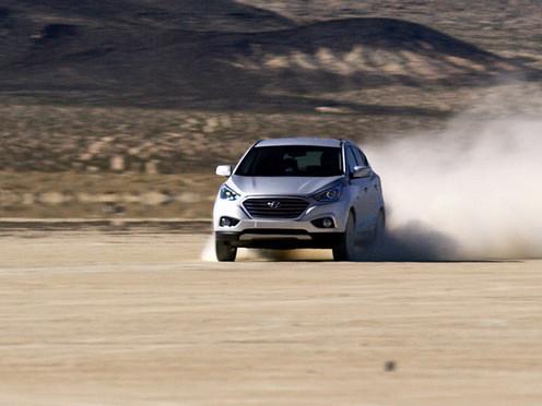 Hyundai Tucson Hidrogen Sanggup Berlari Sampai Kecepatan 152 Km/Jam