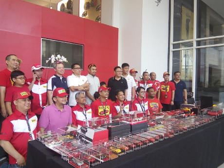 Kenalan Lebih Dekat dengan Klub Diecast Ferrari Indonesia
