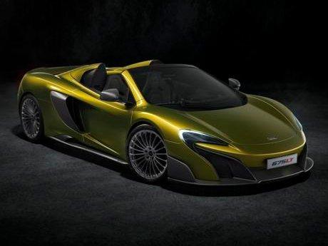 McLaren Siapkan Varian Beratap Buka Tutup Paling Kencang