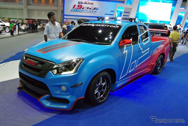 Isuzu D-Max Safety Car