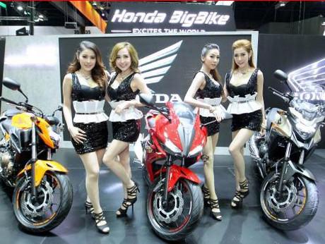 Honda Motor large 500 cc