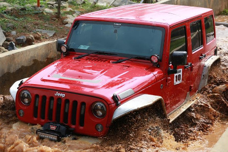 Ini Jawara Jeep Agility Off-Road Competition