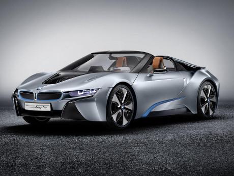 BMW i8 Spyder Concept Tampil di Januari 2016