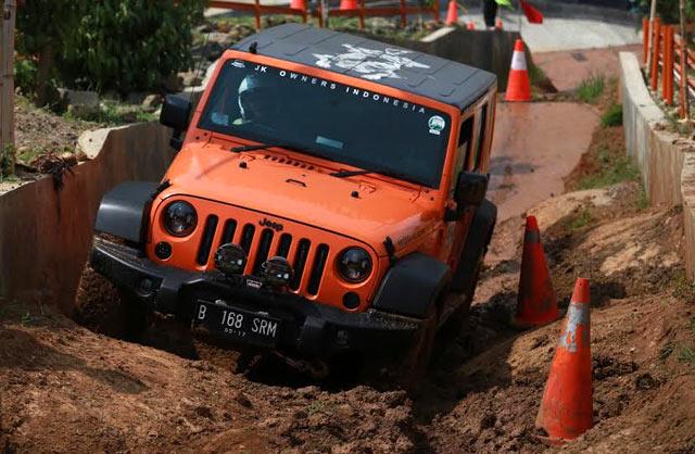 Garansindo Ajak Konsumen Uji Ketangguhan Jeep