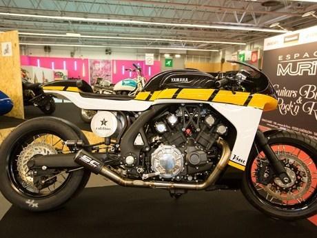 Motor Cafe Racer Yamaha Ini Berbasis V-Max
