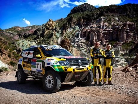 Berambisi Masuk 10 Besar Reli Dakar, Ini Jurus Renault