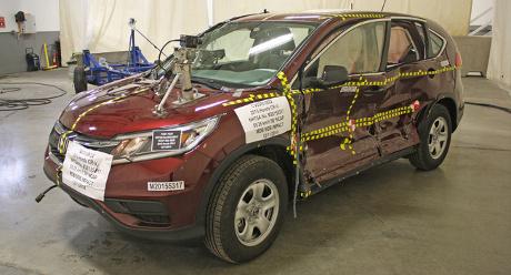 Honda CR-V Terbaru Raih Peringkat Tertinggi Uji Tabrak NHTSA