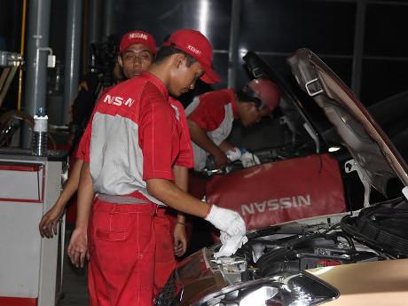 Berapa Banyak Mobil Nissan-Datsun Masuk Bengkel Setiap Bulannya?