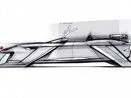Sambut Natal, Jaguar Kenalkan Desain F-Sleigh dari Balok Es