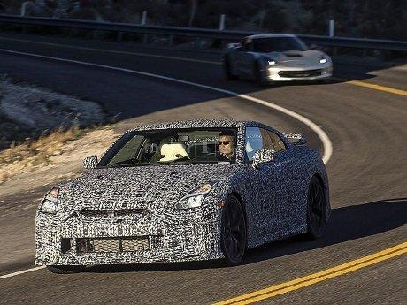 Nissan GT-R Anyar Ketangkap Kamera Dijalanan