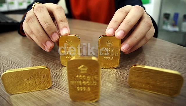 Harga Emas Antam Masih Stagnan di Rp 545.000/Gram