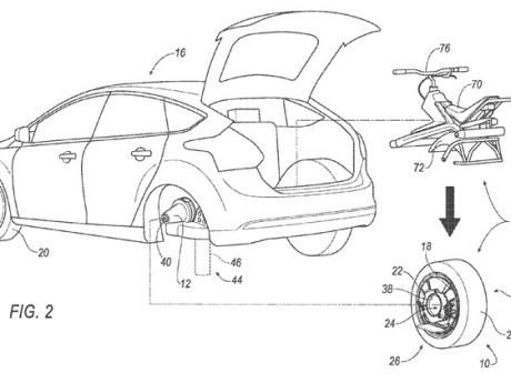 Beri Solusi Kemacetan, Ford Patenkan Konsep Kendaraan Monowheel