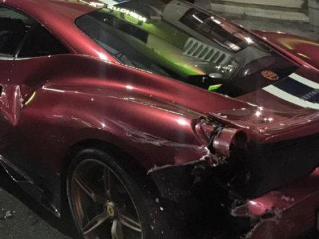 Malam Tahun Baru Mabuk Ganja, Wanita Ini Tabrak Ferrari Milik Aktor Kondang