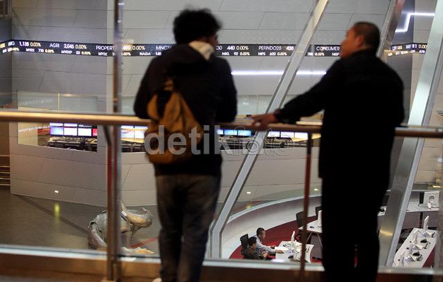 Mengekor Bursa Asia, IHSG Dibuka Merah ke 4.574