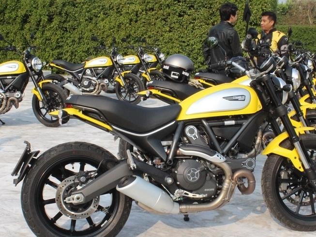 Sepanjang 2015, Ducati Lego 54.800 Motor ke Seluruh Dunia