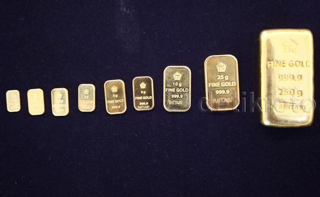 Harga Emas Antam Turun Rp 3.000/Gram di Awal Pekan