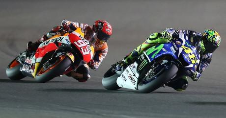 Menyalip Rossi, Marquez Berdoa Tak Lakukan Kesalahan