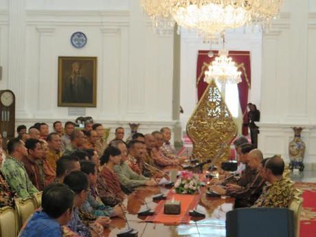 Bertemu Jokowi, Klub dan Asprov Sepakati Reformasi Total Sepakbola