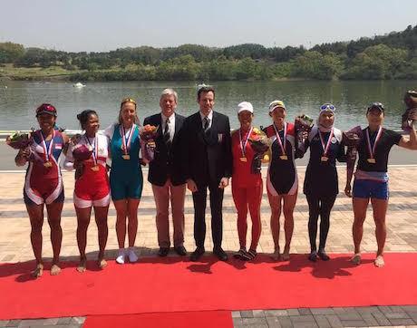 La Memo Raih Perunggu di Kejuaraan Rowing Asia-Oceania