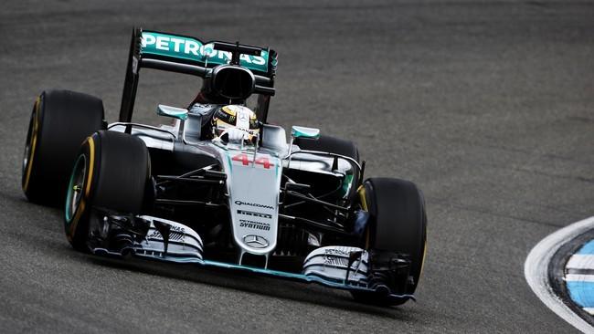 Hamilton Juara di GP Jerman