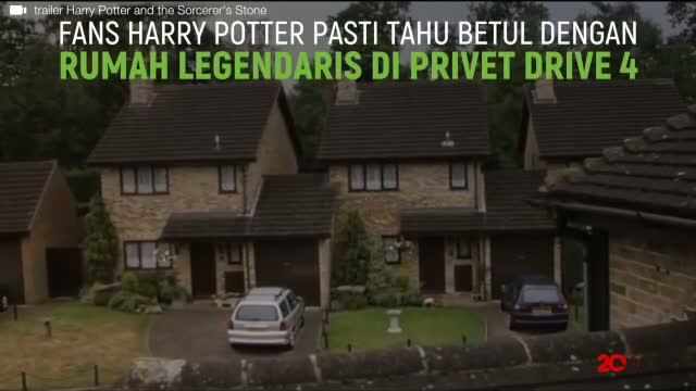 Rumah Harry Potter di Privet Drive 4 Dijual, Berapa Harganya?