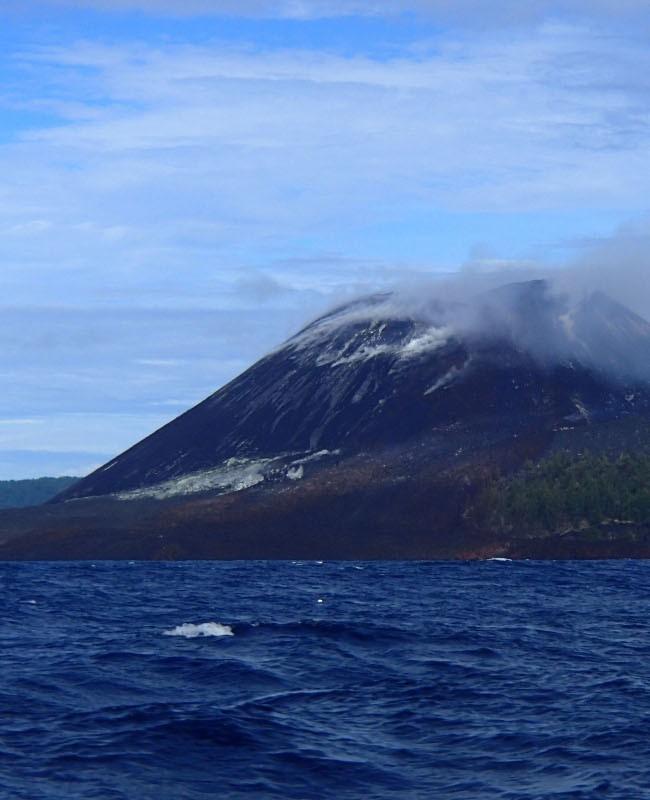 Pulau Anak Krakatau, Banten