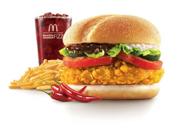Korean McSpicy