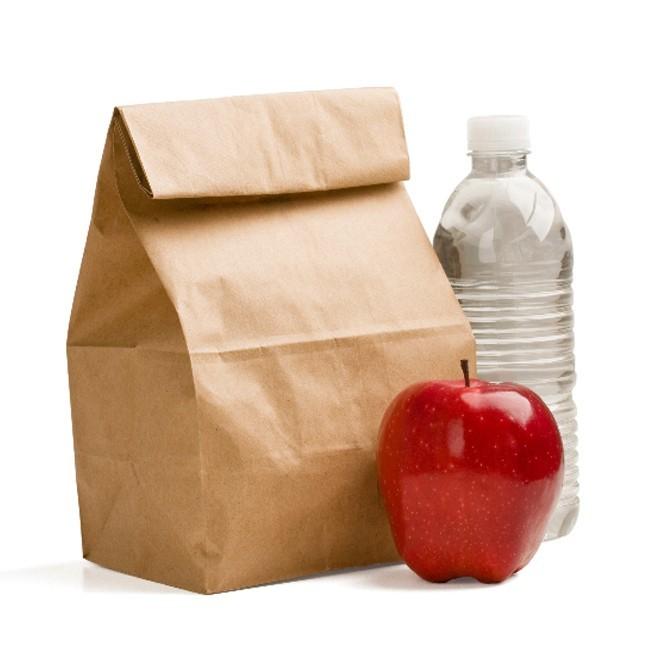 Taruh Makanan di Bagian Atas Tas