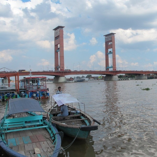 Tepian Sungai Musi Palembang