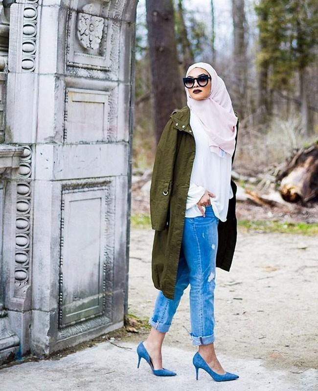 50 Inspirasi Ootd Hijabers Dunia
