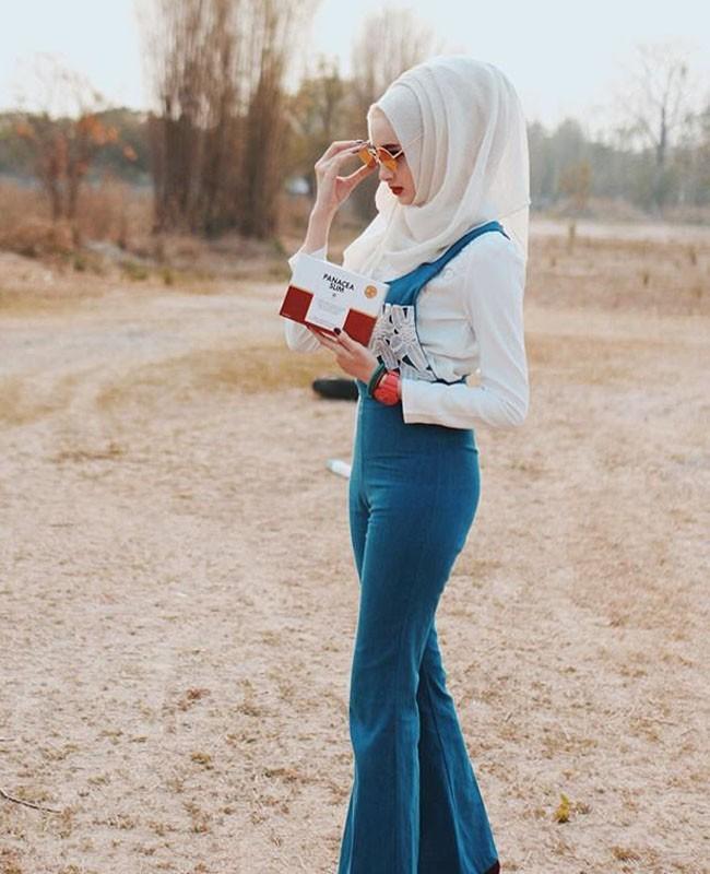 50 Inspirasi OOTD Hijabers Dunia 3a61304652