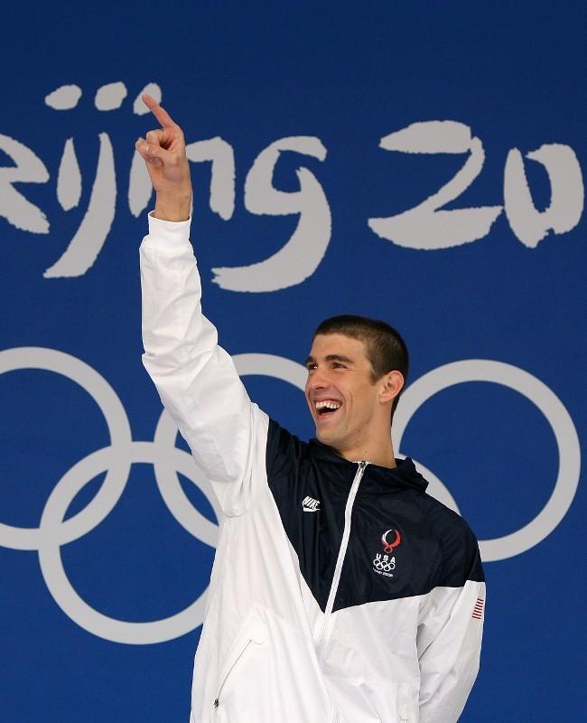 Kolam Emas Michael Phelps