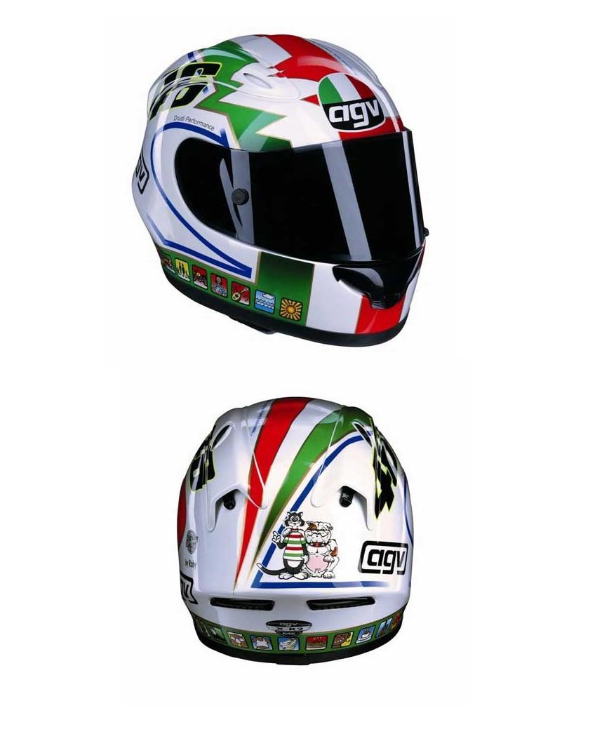 50 Helm Keren Valentino Rossi