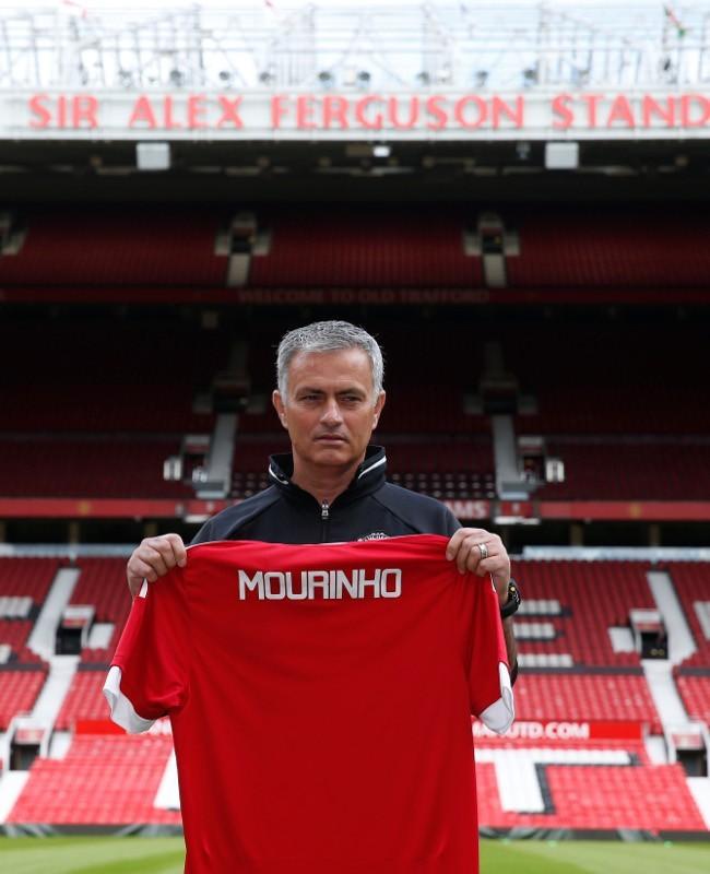 Jose Mourinho Latih MU