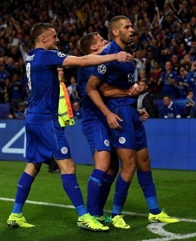 Dongeng Leicester di Liga Champions