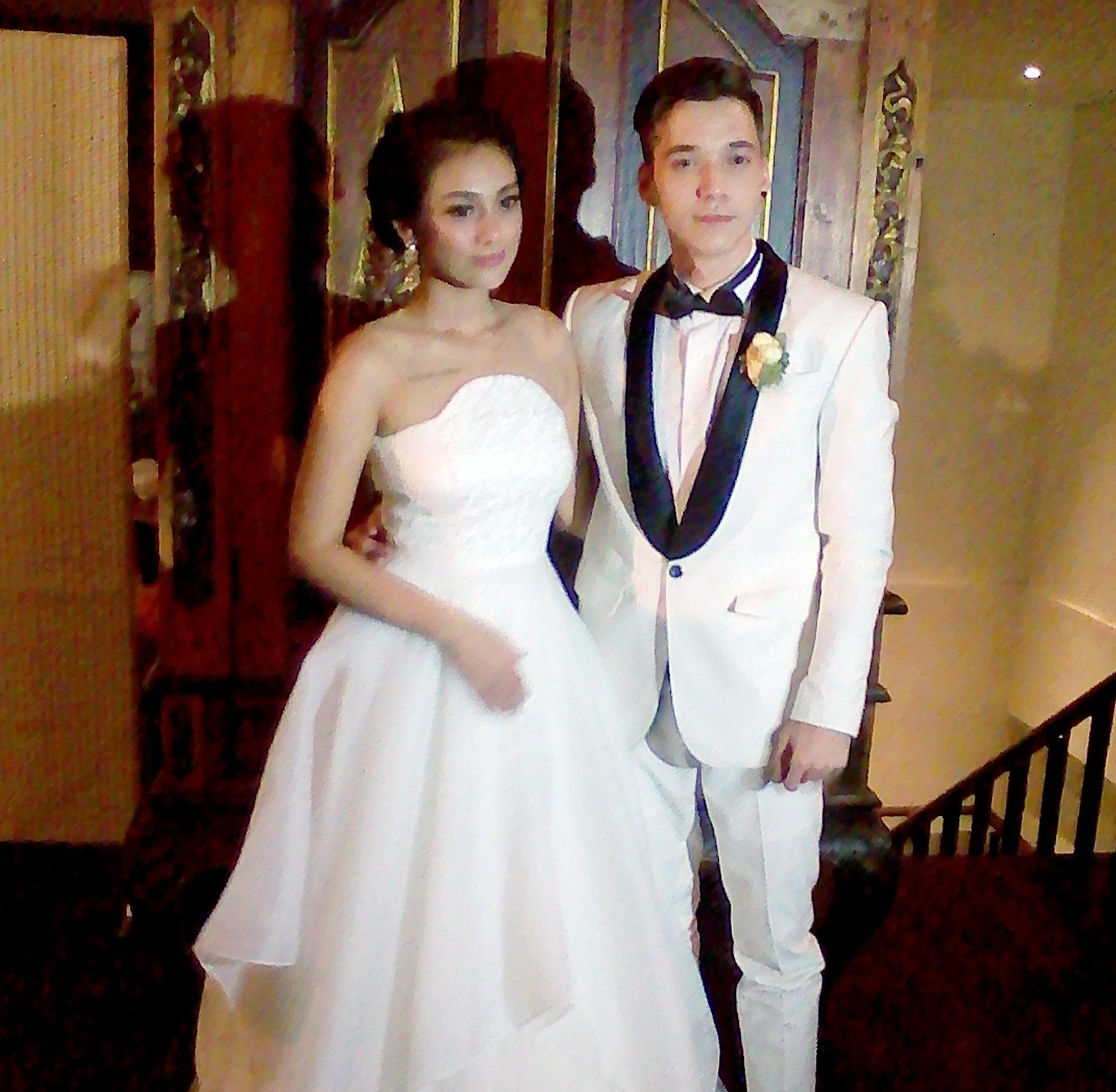 Pernikahan Stefan William dan Celine Evangelista
