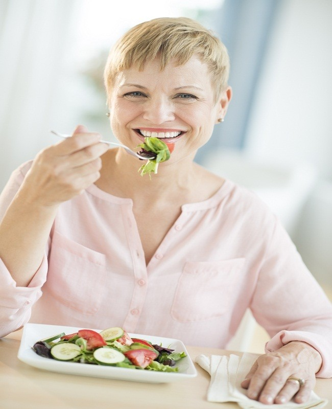 Sarapan dengan Buah dan Sayur