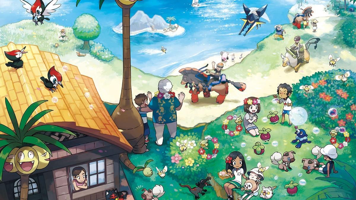 Pokemon Sun and Moon (Nintendo 3DS)