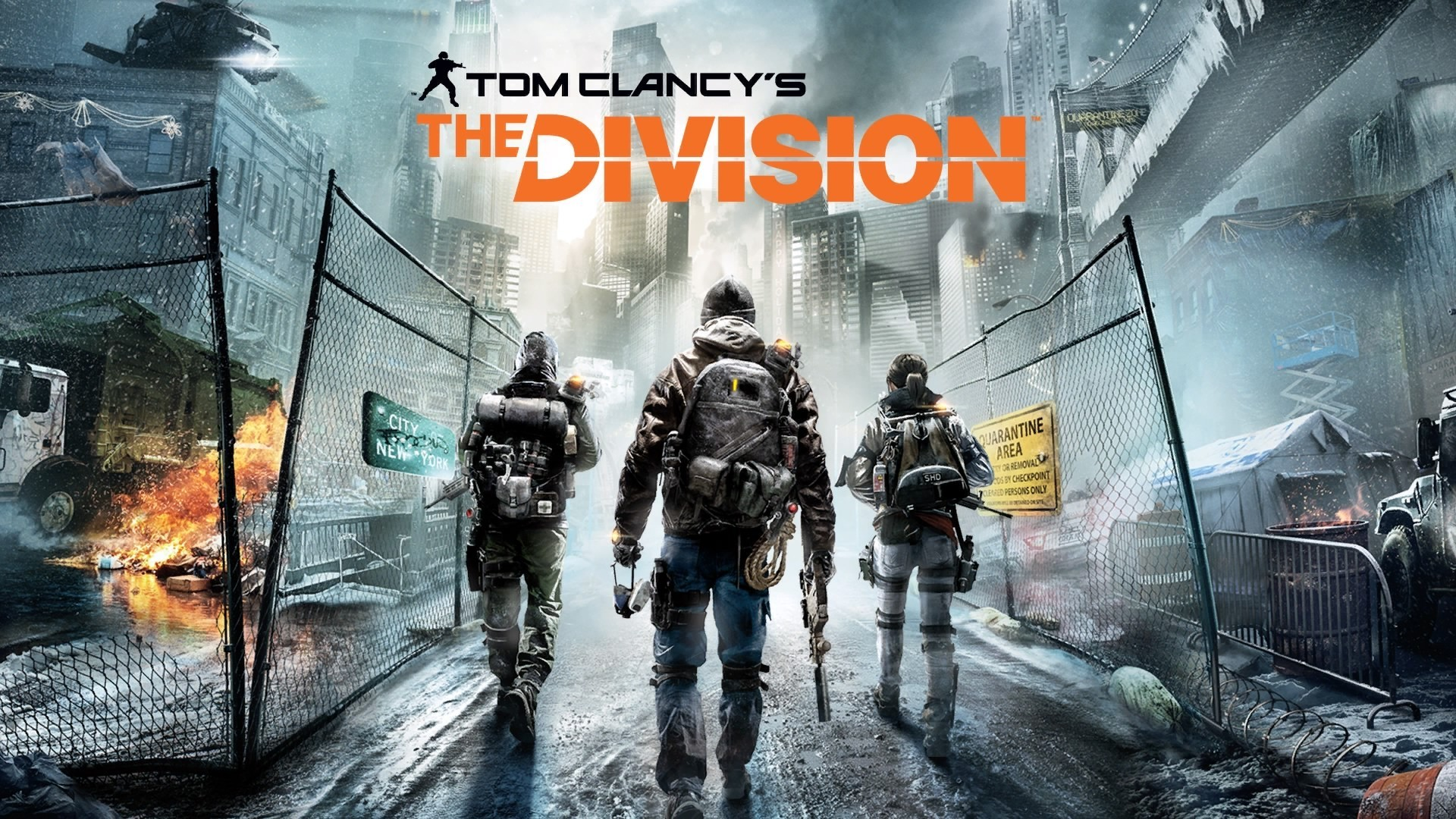 Tom Clancy's The Division (PS4, Xbox One, & PC)